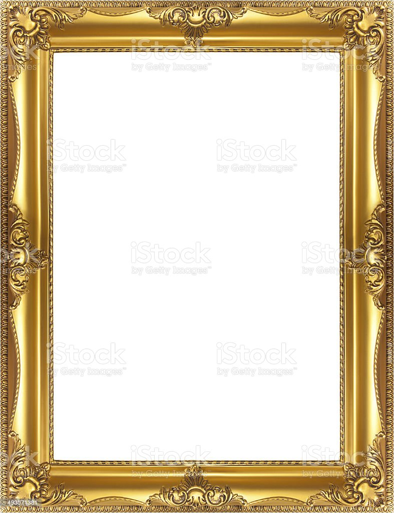 Golden Frame Stock Photo & More Pictures of Antique | iStock
