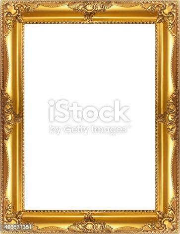 istock Golden Frame 493571381