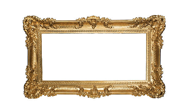 golden frame - intricacy stock pictures, royalty-free photos & images