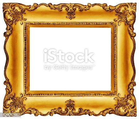 istock Golden Frame 526072667