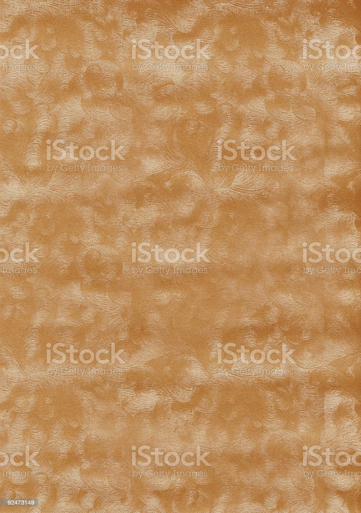 Golden Frost - Scan from paper royalty-free stock photo