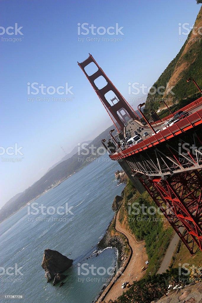 Golden Gate 3 royalty-free stock photo