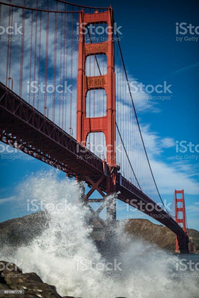 Golden Gate Breakers stock photo