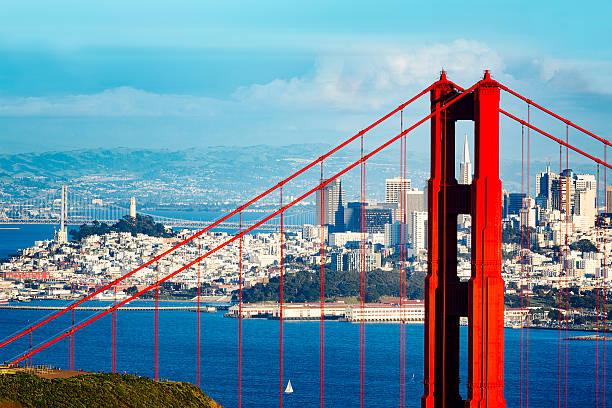 Golden Gate Bridge und San Francisco Stadt (3XL – Foto