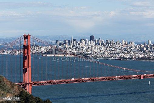 1030949292 istock photo Golden Gate bridge and San Francisco 469521256