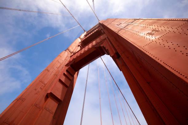 Golden Gate Bridge Arch stock photo