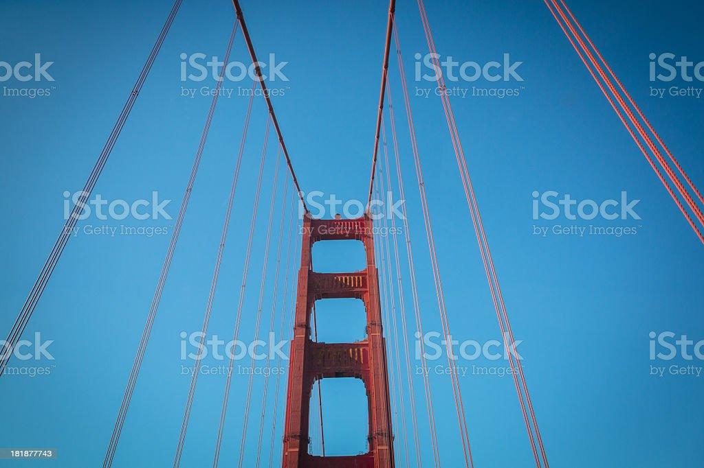 Golden Gate Bridge, California royalty-free stock photo