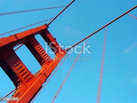 1030949292 istock photo Golden Gate Bridge from Below 173542803