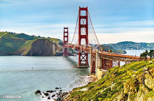The Golden Gate Bridge in San Francisco - California, the United States
