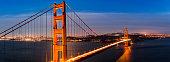 istock Golden Gate Bridge over San Francisco Panorama 618510222