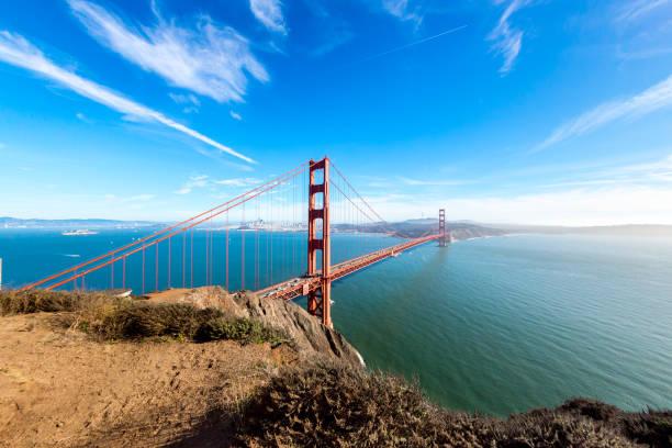 Golden Gate Bridge Golden Gate Bridge san francisco bay stock pictures, royalty-free photos & images