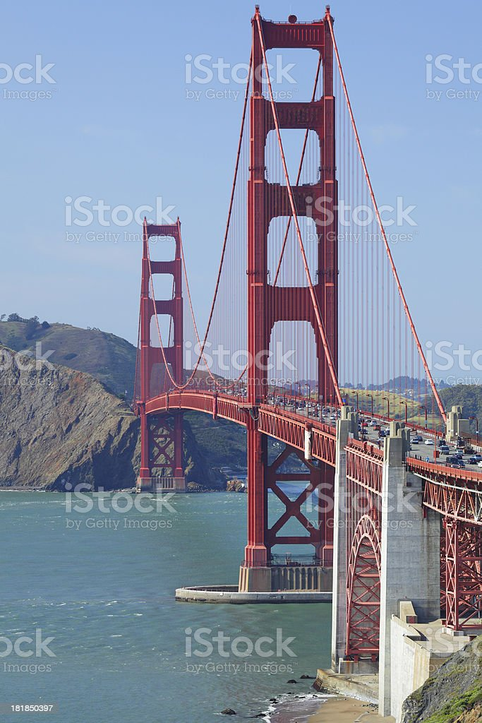 Golden Gate Bridge royalty-free stock photo