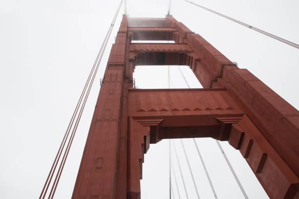 Golden Gate Bridge Golden Gate Bridge perspective shot jude beck stock pictures, royalty-free photos & images
