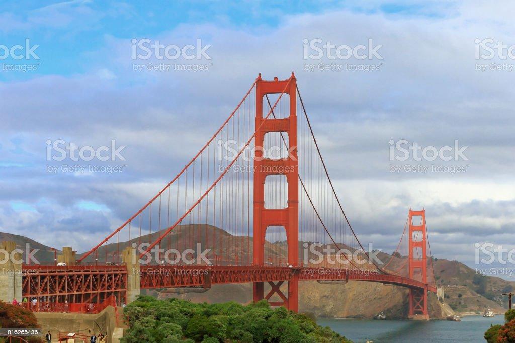 SFO ponte Golden Gate - foto de acervo