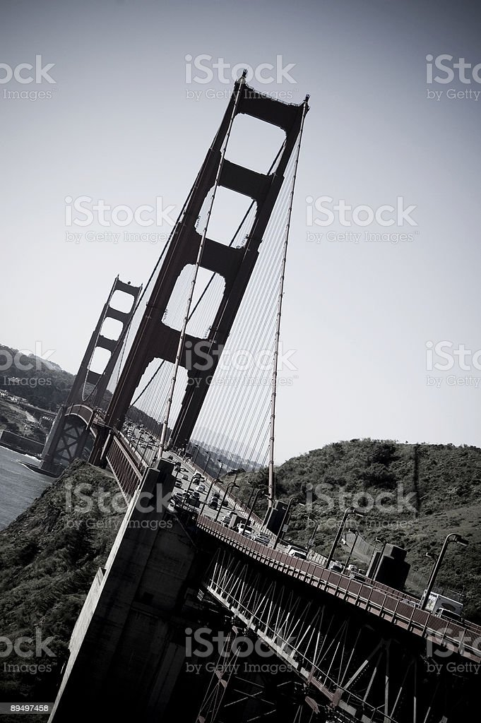Golden Gate Bridge foto stock royalty-free