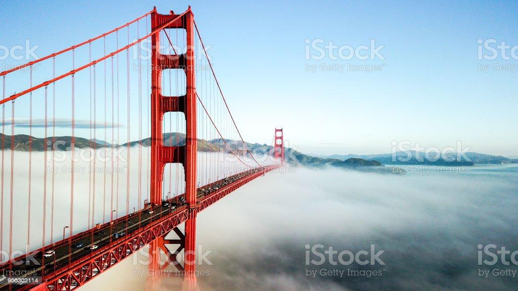 Golden Gate Bridge - Royalty-free Architectuur Stockfoto