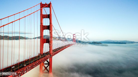 Golden Gate Bridge, San Francisco CA USA