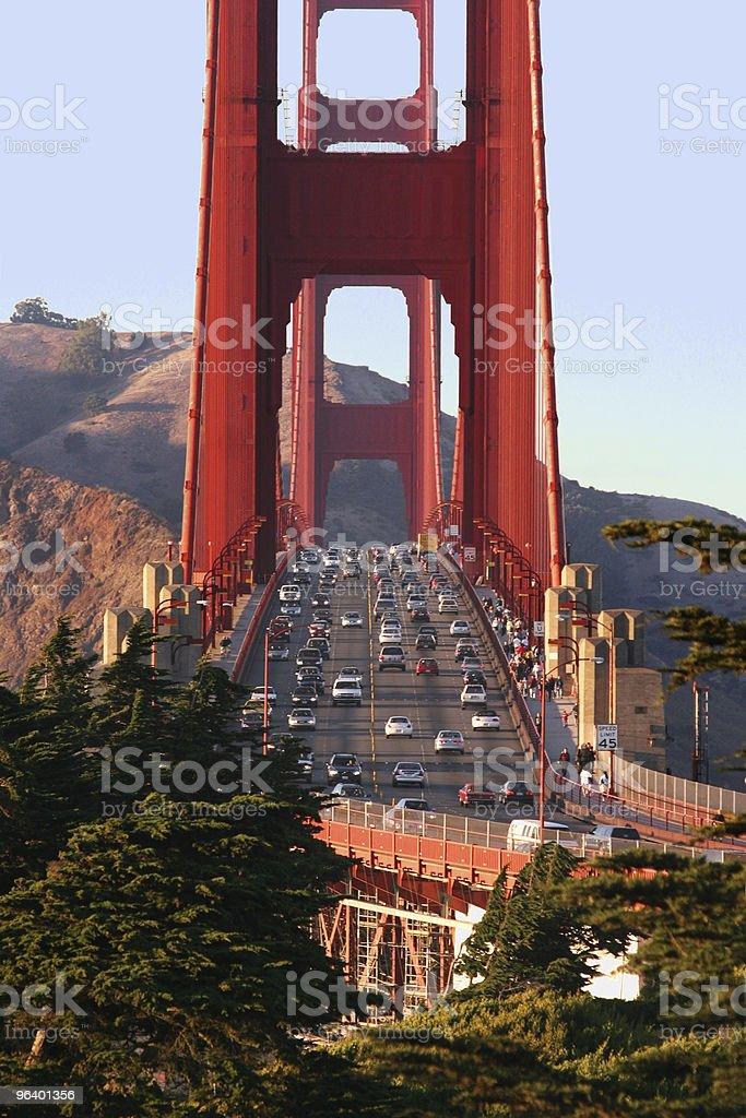 Golden Gate bridge - Royalty-free American Culture Stock Photo