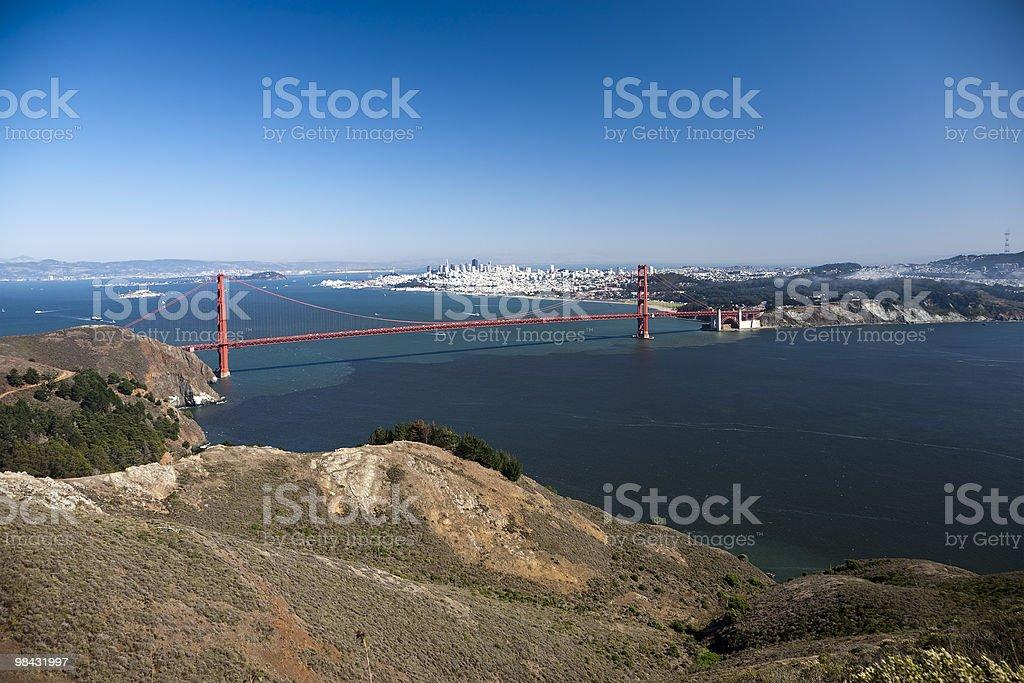 Golden Gate Bridge foto stock royalty-free