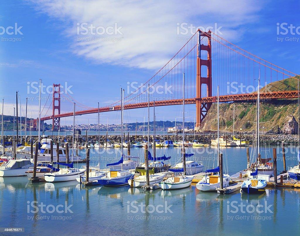 Golden Gate Bridge, San Francisco, CA stock photo