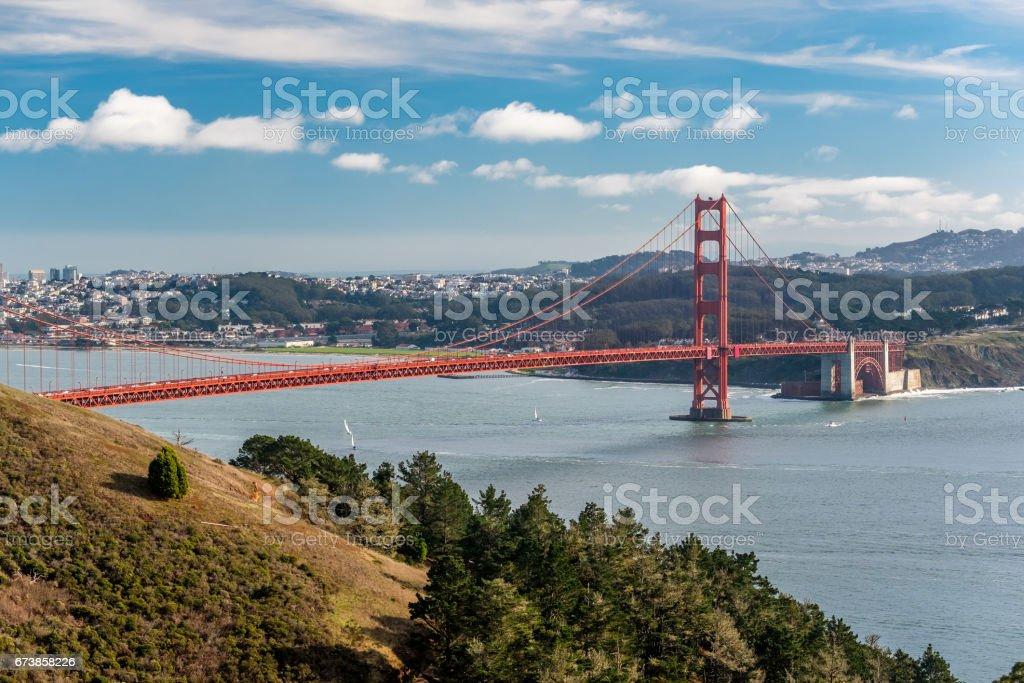 Golden Gate Bridge, San Francisco, California photo libre de droits