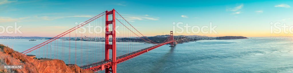 Golden Gate bridge, San Francisco California royalty-free stock photo