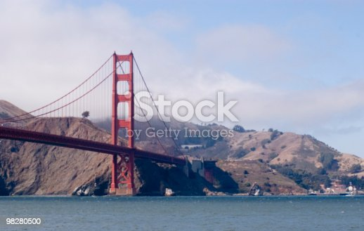 Golden Gate Bridge San Francisco California Stock Photo & More Pictures of Bay of Water
