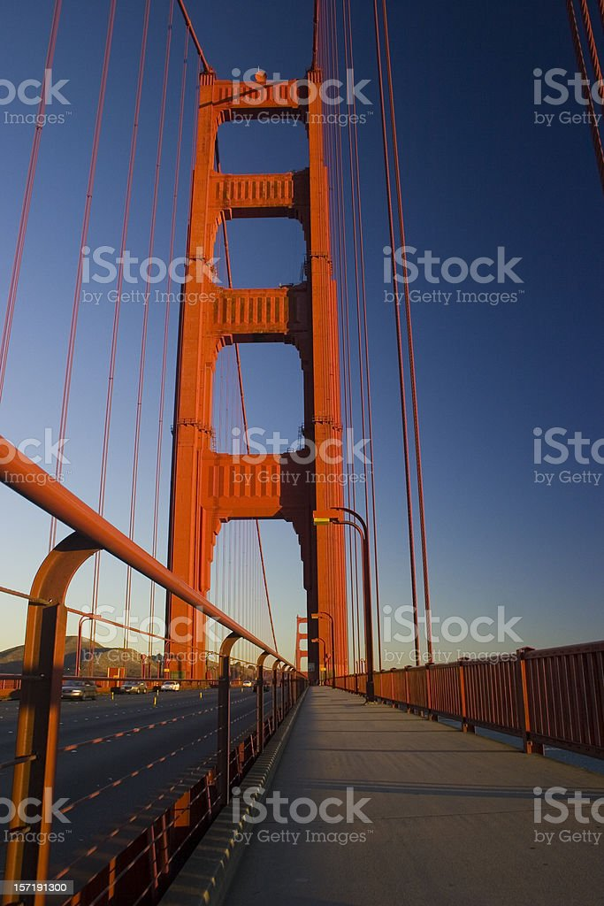 Golden Gate Bridge, San Francisco royalty-free stock photo