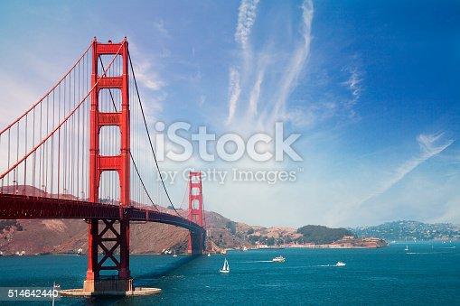 514642440 istock photo Golden Gate Bridge - San Francisco 514642440