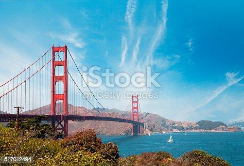 514642440 istock photo Golden Gate Bridge - San Francisco 517012494