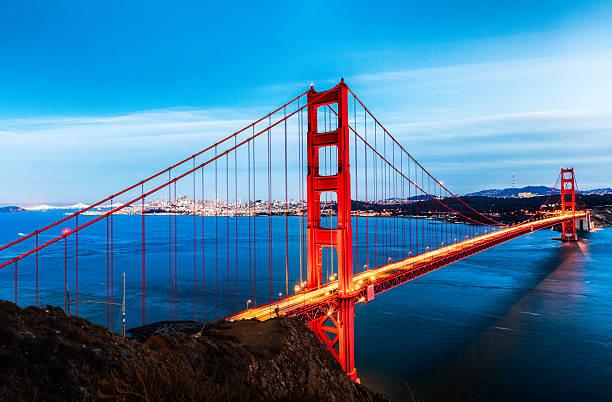 Golden Gate Bridge, San Francisco  – Foto