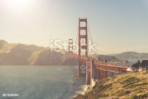514642440 istock photo Golden Gate Bridge - San Francisco 801608484