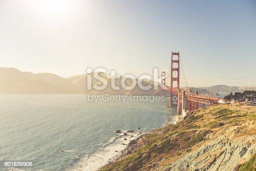 514642440 istock photo Golden Gate Bridge - San Francisco 801639906