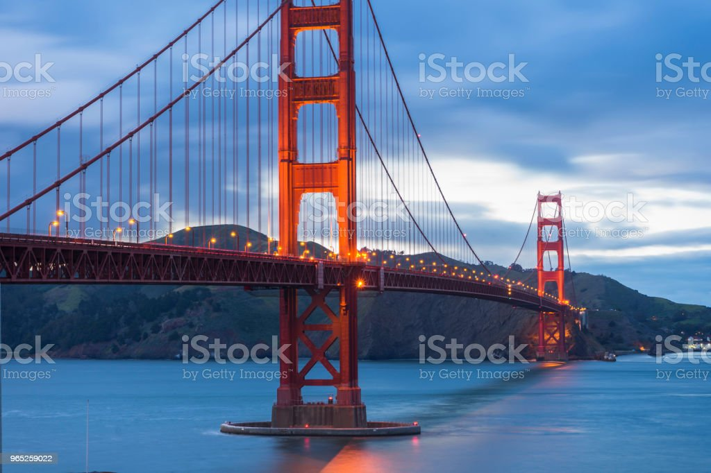 Golden Gate Bridge, San Francisco zbiór zdjęć royalty-free