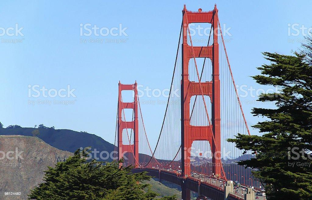 Golden Gate Bridge, San Francisco foto stock royalty-free