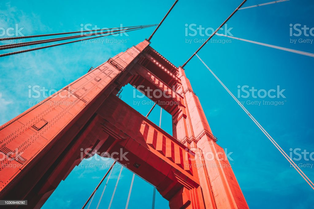 Golden Gate Bridge, San Francisco, USA – Foto