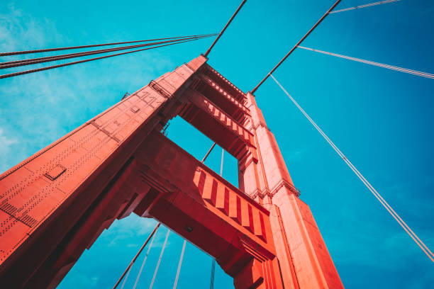 Golden Gate Bridge, San Francisco, USA – Foto