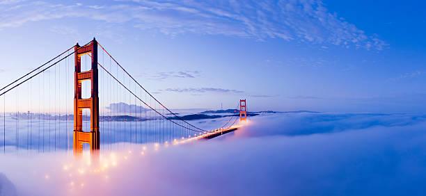 Golden Gate Bridge San Francisco USA stock photo