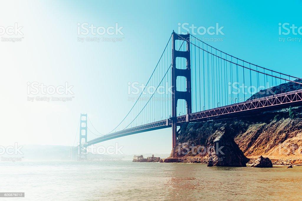 Golden Gate Bridge, San Francisco, Stany Zjednoczone Ameryki zbiór zdjęć royalty-free