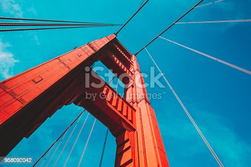 1030949292 istock photo Golden Gate Bridge, San Francisco, USA 958092042