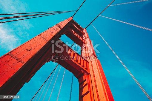 1030949292 istock photo Golden Gate Bridge, San Francisco, USA 985124164