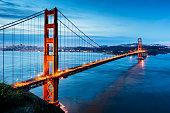 istock Golden Gate Bridge Sunrise San Francisco California USA 539359316