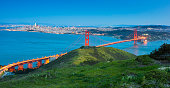 istock Golden Gate bridge Sunset 1142415693