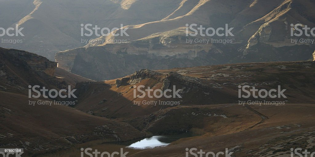 Golden Gate Highlands National Park royalty-free stock photo