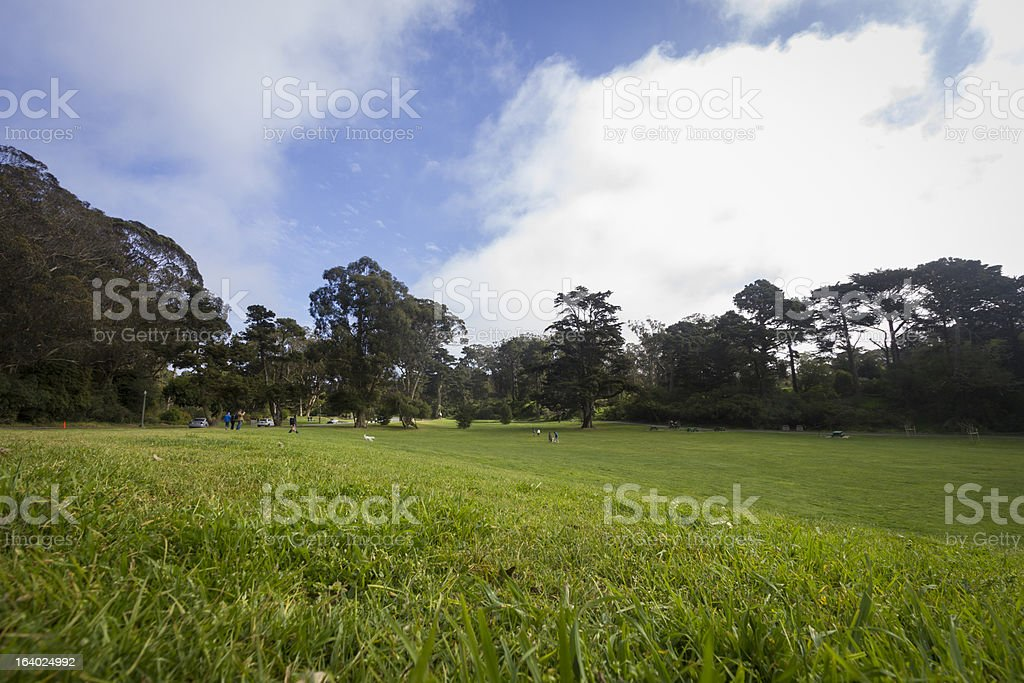 Golden Gate Park royalty-free stock photo