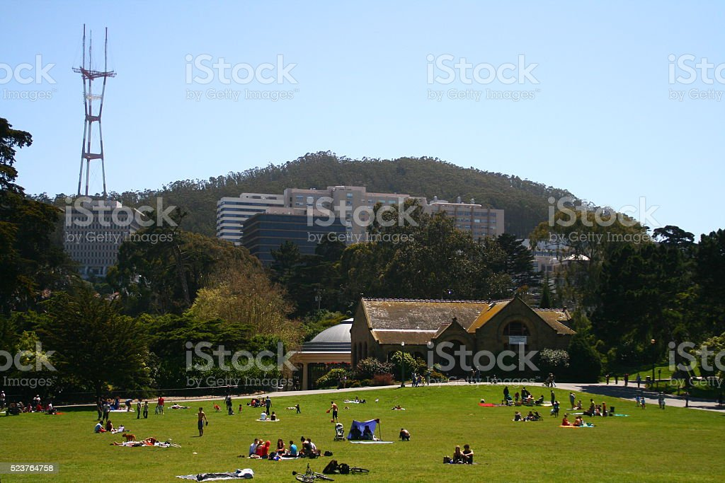 Golden Gate Park stock photo