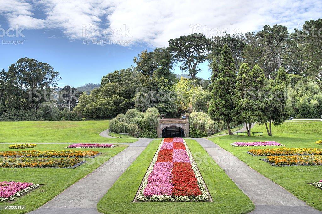 Golden Gate Park San Francisco stock photo