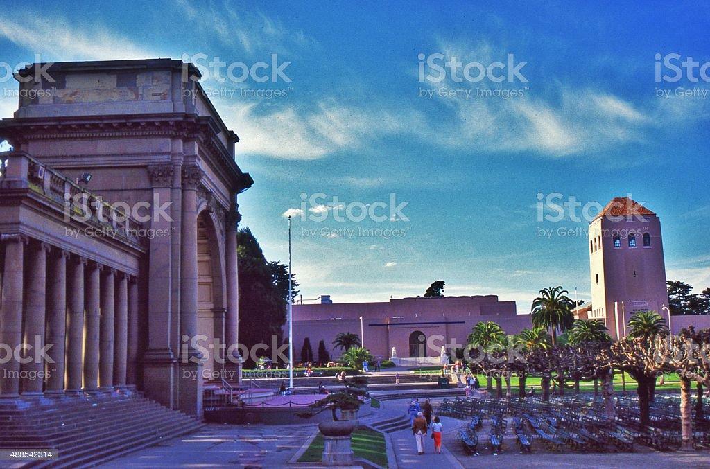 Golden Gate Park, Spreckel's Temple of Music stock photo