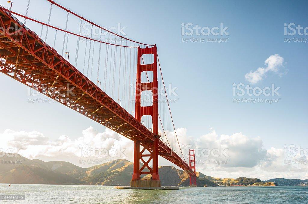 Golden Gate, San Francisco, California, USA stock photo