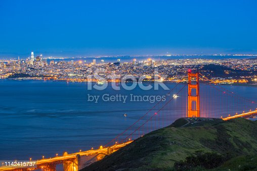 530755444 istock photo Golden Gate Strait 1142415737